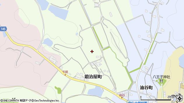 〒675-2412 兵庫県加西市鍛治屋町の地図