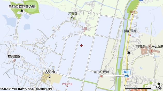 〒671-2113 兵庫県姫路市夢前町古知之庄の地図