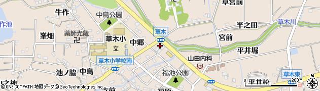 ロゼ周辺の地図