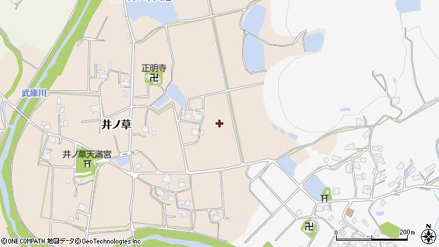 〒669-1356 兵庫県三田市井ノ草の地図