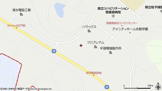 〒679-5165 兵庫県たつの市新宮町光都の地図