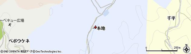 愛知県岡崎市小美町(一本地)周辺の地図