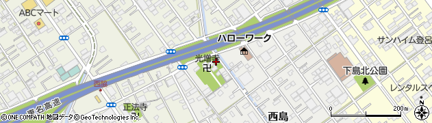 渡神社周辺の地図