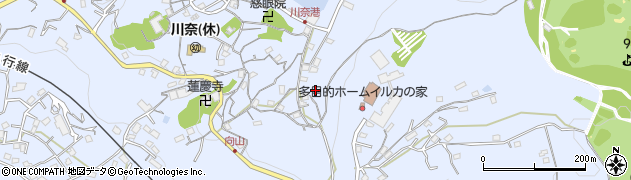 静岡県伊東市川奈周辺の地図