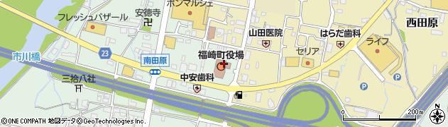 兵庫県神崎郡福崎町周辺の地図