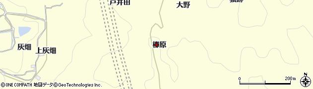 愛知県岡崎市秦梨町(柳原)周辺の地図