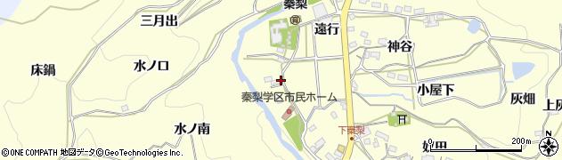 愛知県岡崎市秦梨町(平)周辺の地図