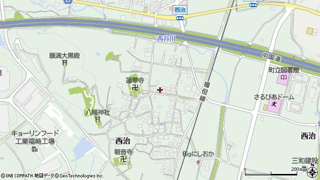 〒679-2215 兵庫県神崎郡福崎町西治の地図