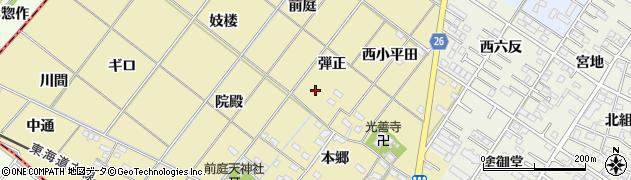愛知県岡崎市新堀町周辺の地図