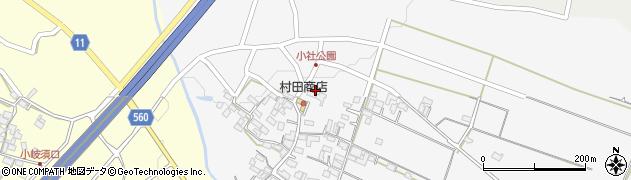 洞水寺周辺の地図