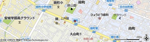 株式会社ショクブン安城営業所周辺の地図