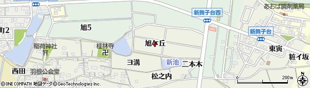 愛知県知多市金沢(旭ケ丘)周辺の地図