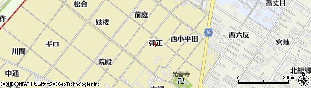 愛知県岡崎市新堀町(弾正)周辺の地図