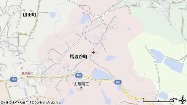 〒675-2414 兵庫県加西市馬渡谷町の地図