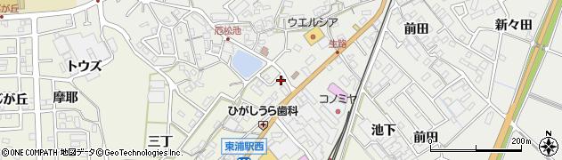 小袖周辺の地図