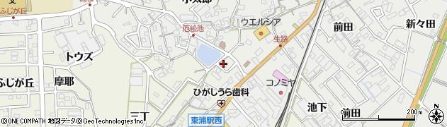 トムソーヤ周辺の地図