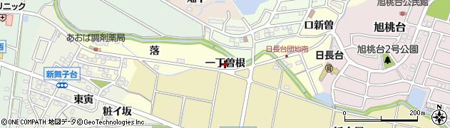 愛知県知多市新舞子(一丁曽根)周辺の地図