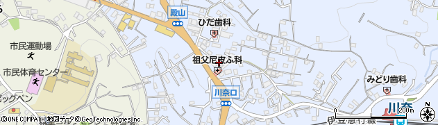 絆や周辺の地図
