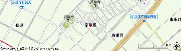 愛知県刈谷市小垣江町(南屋敷)周辺の地図