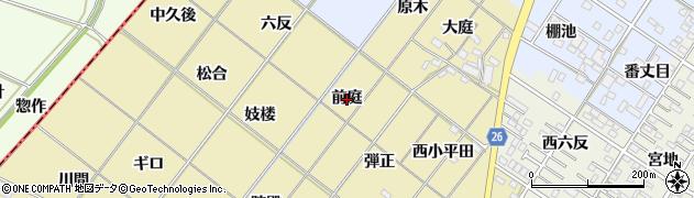 愛知県岡崎市新堀町(前庭)周辺の地図