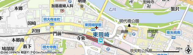 GABUNOMIワインクラブ 東岡崎店周辺の地図