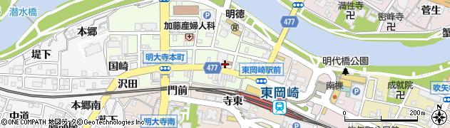 洋・中華ダイニングおん周辺の地図
