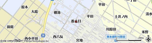愛知県岡崎市富永町(番丈目)周辺の地図
