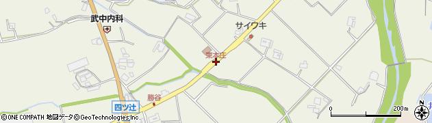 東本庄周辺の地図
