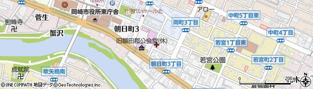 カフェ・ド・ボスケ周辺の地図