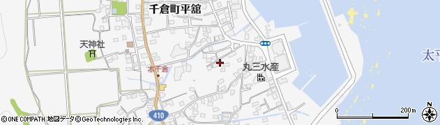 千葉県南房総市千倉町平舘周辺の地図