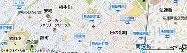 ラウンジ麻由周辺の地図