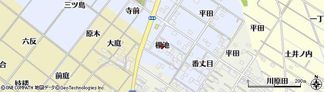 愛知県岡崎市富永町(棚池)周辺の地図