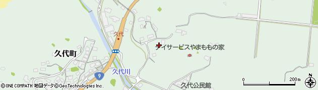 島根県浜田市久代町周辺の地図