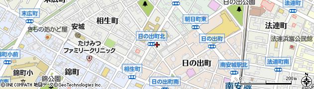 マリィビー周辺の地図