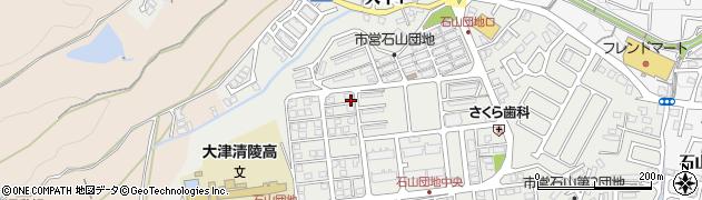 滋賀県大津市大平周辺の地図