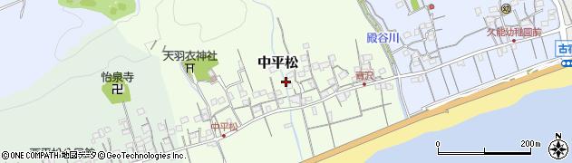 静岡県静岡市駿河区中平松周辺の地図