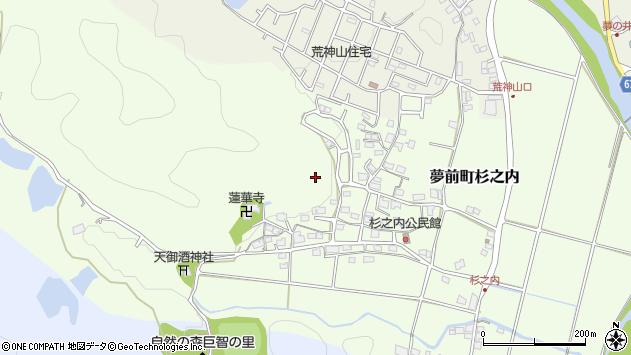 〒671-2111 兵庫県姫路市夢前町杉之内の地図