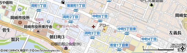 ROPPONGI周辺の地図