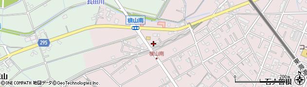 愛知県安城市横山町(横山)周辺の地図