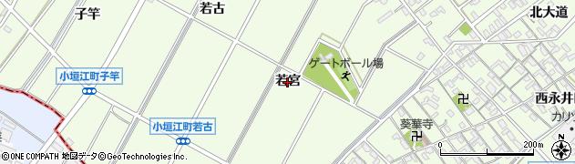 愛知県刈谷市小垣江町(若宮)周辺の地図