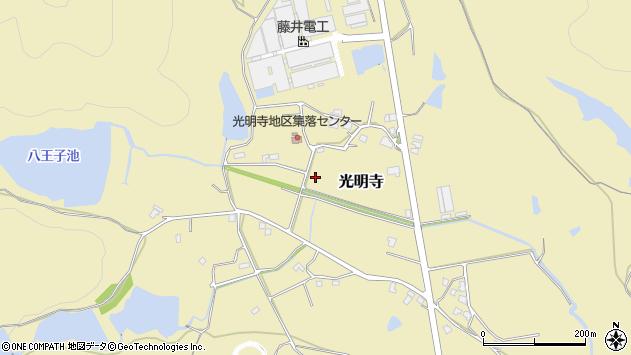 〒679-0213 兵庫県加東市光明寺の地図