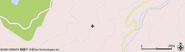 愛知県岡崎市夏山町(大内)周辺の地図