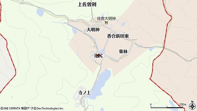 〒669-1201 兵庫県宝塚市香合新田の地図