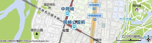 大正庵釜春本店周辺の地図