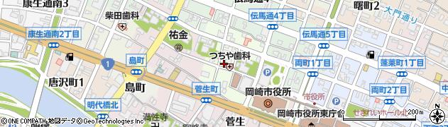 魚清周辺の地図