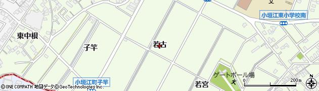 愛知県刈谷市小垣江町(若古)周辺の地図