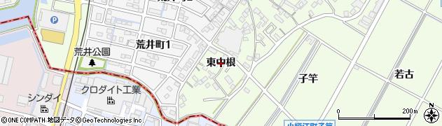 愛知県刈谷市小垣江町(東中根)周辺の地図