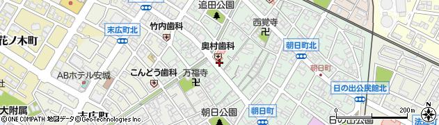 松竹庵周辺の地図