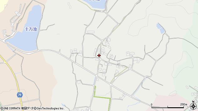 〒675-2422 兵庫県加西市山田町の地図