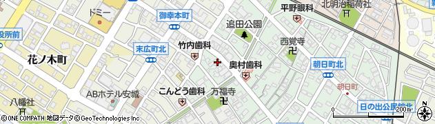 菜香苑周辺の地図
